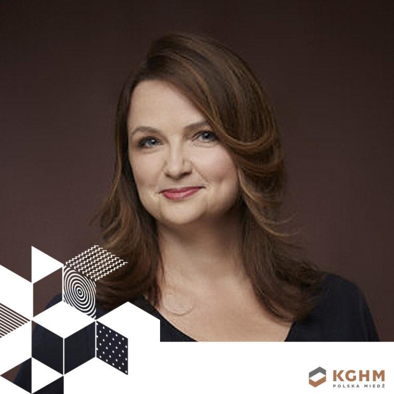 LIDIA MARCINKOWSKA // KGHM // DYREKTOR KOMUNIKACJI